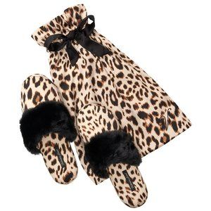 Victoria Secret Slippers leopard